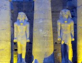 Luxor, night
