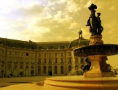 Cheap flights to Bordeaux: Fountain