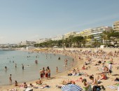 Cannes, beach