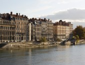 Lyon, riverbanks