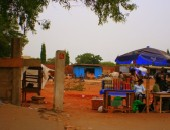 Accra, stall
