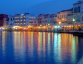 Chania, lights