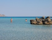 Chania, swimming