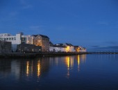 Galway, night
