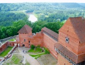 Latvia, castle