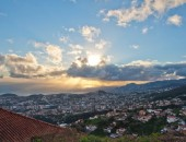 Funchal, sunset