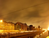 St Petersburg, night