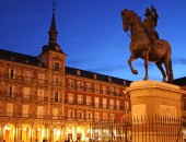 Cheap flights to Madrid: Plaza Mayor