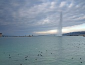 Cheap flights to Geneva: Jet d'Eau
