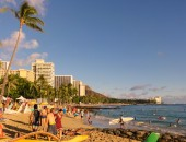 Honolulu, beach