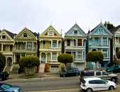 Cheap flights to San Francisco: Houses