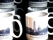 Washington, mugs