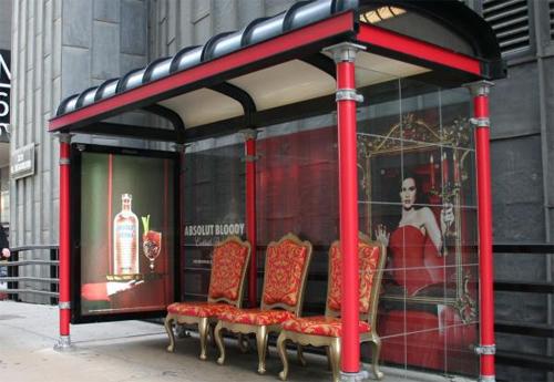 Opera bus stop