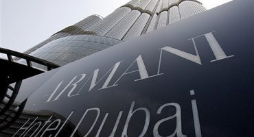 Armani's new hotel opens in Dubai