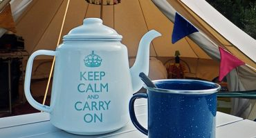 Glamping: for posh travellers who like the outdoors