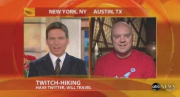 @Twitchhiker travelled the world with Twitter for free