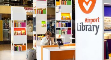 Schiphol Airport Library, a book-worm's dream come true