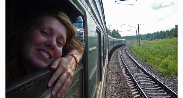 """All aboard!"" The Trans-Siberian heads to China"