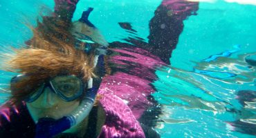 Be bodacious, snorkel in Belize