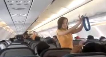 Airline safety demos just got Lady Gaga-ized