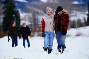 Fitness tips for skiing holidays
