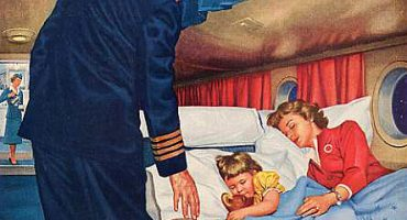 Blast to the past: Vintage airline ads