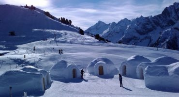 Spend a night in an ice hotel