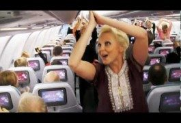 Finnair stewardesses go Bollywood