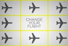 "Unused flights? Try ""Change your flight"""