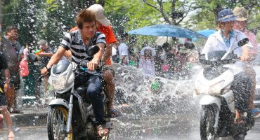 It's super (and soaking) at Songkran