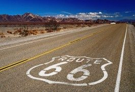 Music: cruising down Route 66