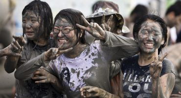 Spotlight on the Boryeong Mud Festival