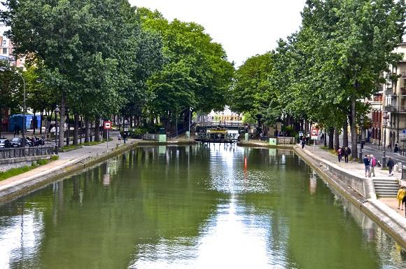 Canal St Martin Paris