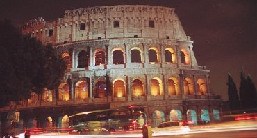 First Pisa, now Rome has a tilt