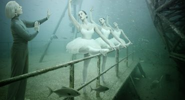 Hold your breath: world's only underwater photo gallery