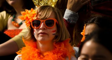 Celebrating Queen's Day in Amsterdam