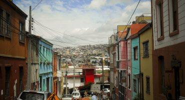 San Francisco of Chile: Valparaiso for £858