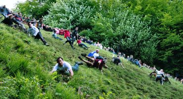Cheese Rolling: a Great British pastime