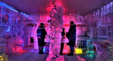 NYC ice bar cools things off in the Big Apple