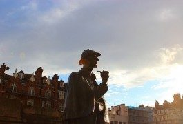 On the trail for Sherlock Holmes in London