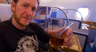 The end is nigh: alcohol served on flights