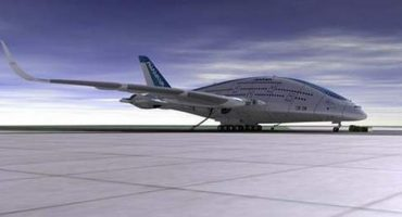 """Sky Whale"" the aircraft of the future"