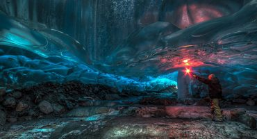 PHOTOS: Alaskan ice cave spectacularness