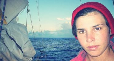 Emily, 29 years old and sailing solo around the world