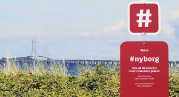 Denmark teaches tourists how to hashtag