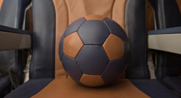 Southwest makes footballs out of old seats