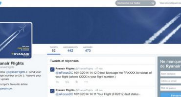 Follow Ryanair on Twitter with @RyanairFlights