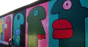 Berlin Wall art comes to London