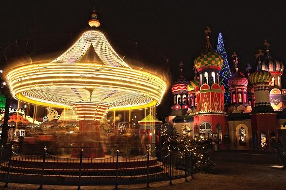 Copenhagen Tivoli Gardens christmas markets