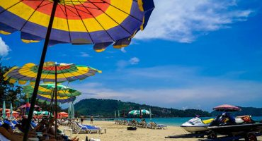 Phuket: bring your own beach umbrella